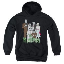 Image for The Munsters Youth Hoodie - The Family