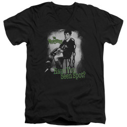 Image for The Munsters T-Shirt - V Neck - Have You Seen Spot?