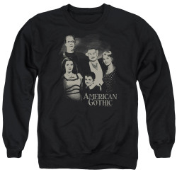 Image for The Munsters Crewneck - American Gothic