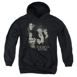 Image for The Munsters Youth Hoodie - American Gothic