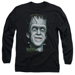 Image for The Munsters Long Sleeve T-Shirt - Hermans Head