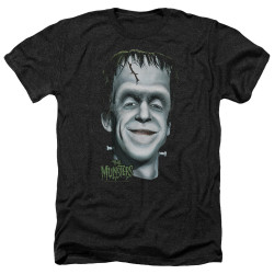 Image for The Munsters Heather T-Shirt - Hermans Head