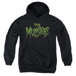 Image for The Munsters Youth Hoodie - Distress Logo