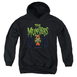 Image for The Munsters Youth Hoodie - 50 Year Logo