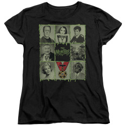 Image for The Munsters Woman's T-Shirt - Black