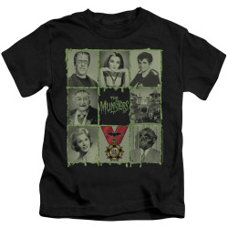 Image for The Munsters Kids T-Shirt - Black