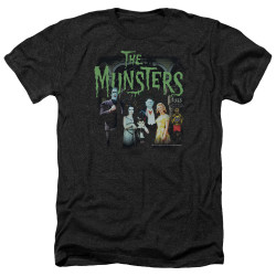 Image for The Munsters Heather T-Shirt - 1313 50 Years