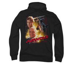 Image for Airwolf Hoodie - Poster