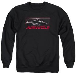Image for Airwolf Crewneck - Grid