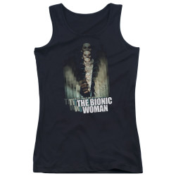 Image for Bionic Woman Girls Tank Top - Motion Blur
