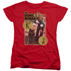 Image for Bionic Woman Woman's T-Shirt - Jamie & Max