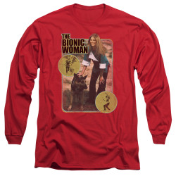 Image for Bionic Woman Long Sleeve T-Shirt - Jamie & Max