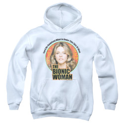 Image for Bionic Woman Youth Hoodie - Under My Skin