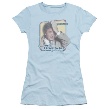 Image for Columbo Girls T-Shirt - Inconspicuous
