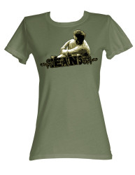 Image for James Dean Girls T-Shirt - Dean '55