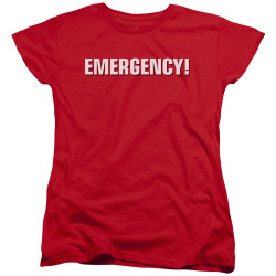 Image for Emergency Woman's T-Shirt - Logo