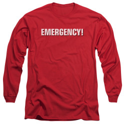 Image for Emergency Long Sleeve T-Shirt - Logo