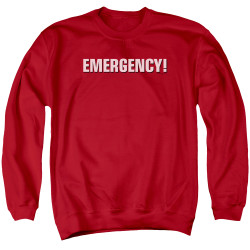 Image for Emergency Crewneck - Logo