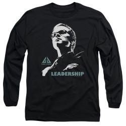 Image for Eureka Long Sleeve T-Shirt - Leadership Poster