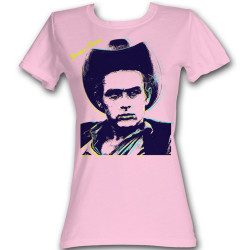 Image for James Dean Girls T-Shirt - Contrast