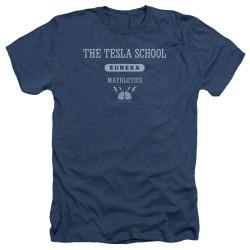 Image for Eureka Heather T-Shirt - Tesla School