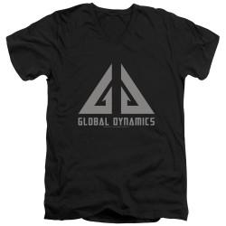 Image for Eureka T-Shirt - V Neck - Global Dynamics Logo