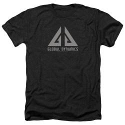 Image for Eureka Heather T-Shirt - Global Dynamics Logo
