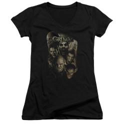Image for Grimm Girls V Neck T-Shirt - Wesen
