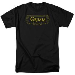 Image for Grimm T-Shirt - Plaque Logo