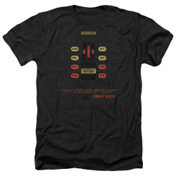 Image for Knight Rider Heather T-Shirt - KITT Consol