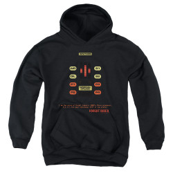 Image for Knight Rider Youth Hoodie - KITT Consol