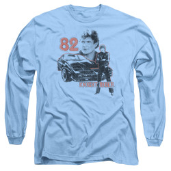 Image for Knight Rider Long Sleeve T-Shirt - Consol