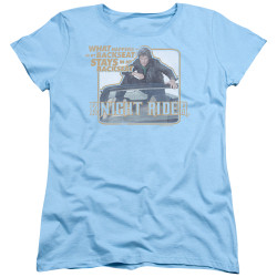 Image for Knight Rider Woman's T-Shirt - Back Seat