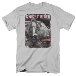 Image for Knight Rider T-Shirt - Knight and KITT