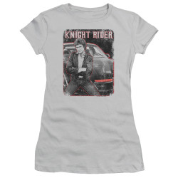 Image for Knight Rider Girls T-Shirt - Knight and KITT