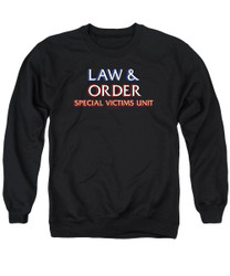 Image for Law and Order Crewneck - SVU Logo