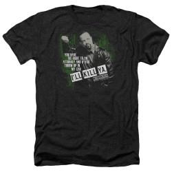 Image for Law and Order Heather T-Shirt - SVU I'll Kill Ya