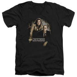 Image for Law and Order T-Shirt - V Neck - SVU Helping Victims