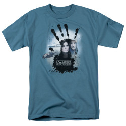 Image for Law and Order T-Shirt - SVU Hand