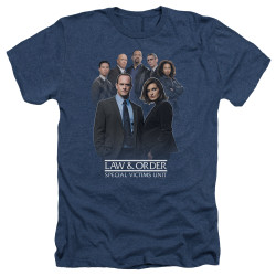 Image for Law and Order Heather T-Shirt - SVU Team