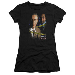 Image for Law and Order Girls T-Shirt - Briscoe and Green