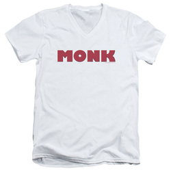 Image for Monk T-Shirt - V Neck - Logo