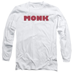 Image for Monk Long Sleeve T-Shirt - Logo