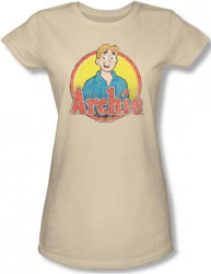 Image for Archie Comics Girls T-Shirt - Archie Distressed