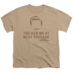 Image for Parks & Rec Youth T-Shirt - Meat Tornado
