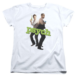 Image for Psych Woman's T-Shirt - Hands Up