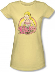 Image for Archie Comics Girls T-Shirt - Betty Distressed
