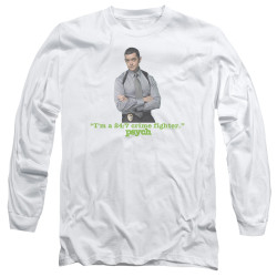 Image for Psych Long Sleeve T-Shirt - I'm a 24/7 Crime Fighter