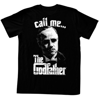 Image for Godfather T-Shirt - Call Me...
