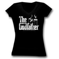 Image for Godfather Logo Girls T-Shirt